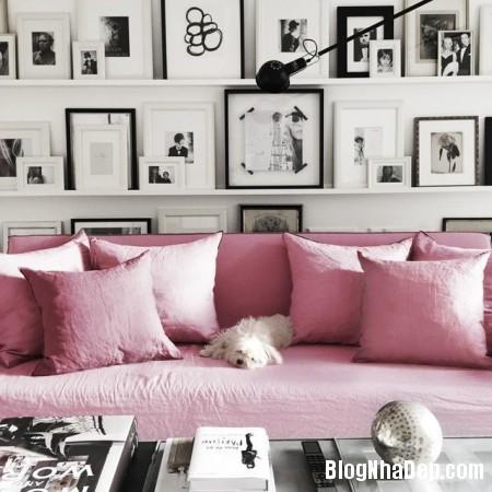 48 e1b5 Trang trí nhà ở điệu đà với gam màu hồng