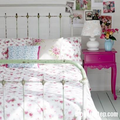 56 b396 Trang trí nhà ở điệu đà với gam màu hồng
