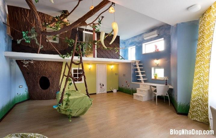 92002645 3405 Tận dụng góc phòng bố trí không gian vui chơi cho bé