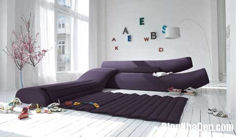 Sofa diem nhan cho khong gian phong khach 1 Tạo điểm nhấn cho phòng khách với sofa