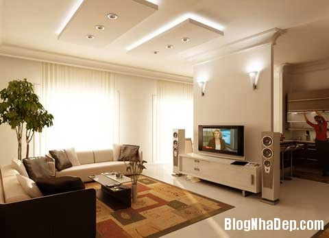 Sofa diem nhan cho khong gian phong khach 3 Tạo điểm nhấn cho phòng khách với sofa