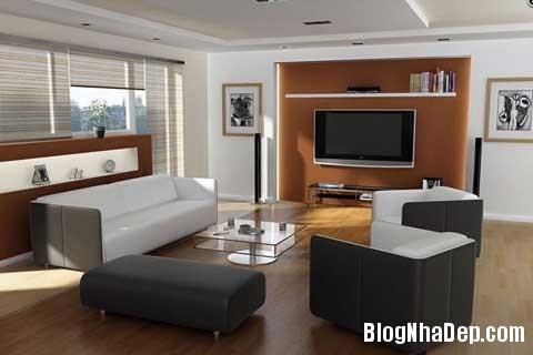 Sofa diem nhan cho khong gian phong khach 5 Tạo điểm nhấn cho phòng khách với sofa