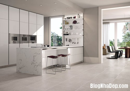 gach Nguyên tắc chọn màu sắc cho gạch lát tường phòng bếp