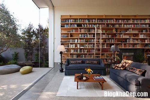 nhung goc doc sach tuyet voi Những góc đọc sách đẹp mê ở mọi nơi trong nhà