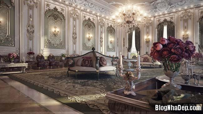 phong khach dep 01 Những thiết kế phòng khách lộng lẫy như hoàng gia