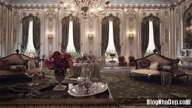 phong khach dep 02 Những thiết kế phòng khách lộng lẫy như hoàng gia