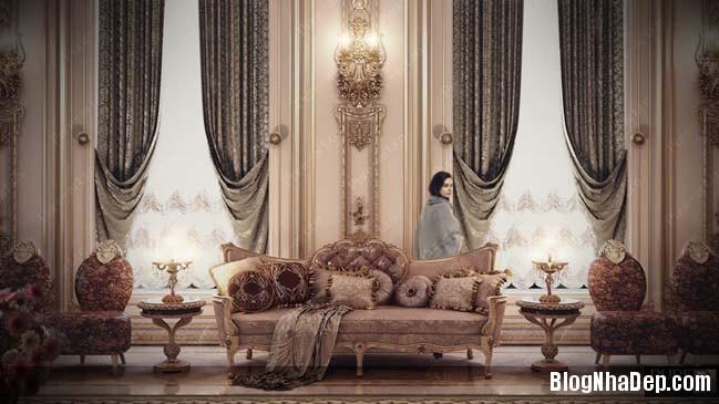 phong khach dep 03 Những thiết kế phòng khách lộng lẫy như hoàng gia