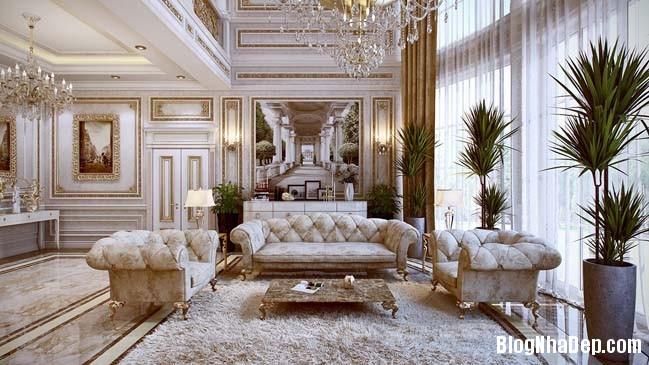 phong khach dep 05 Những thiết kế phòng khách lộng lẫy như hoàng gia