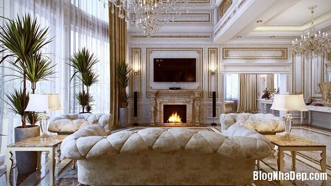 phong khach dep 06 Những thiết kế phòng khách lộng lẫy như hoàng gia