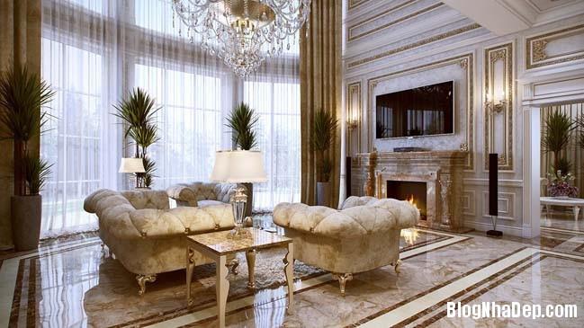phong khach dep 07 Những thiết kế phòng khách lộng lẫy như hoàng gia