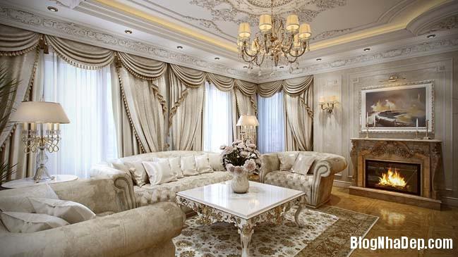 phong khach dep 08 Những thiết kế phòng khách lộng lẫy như hoàng gia