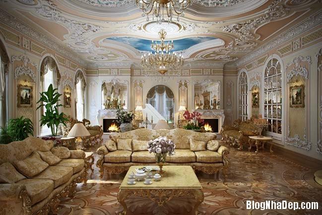 phong khach dep 09 Những thiết kế phòng khách lộng lẫy như hoàng gia