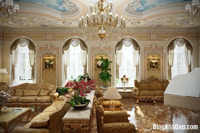 phong khach dep 11 Những thiết kế phòng khách lộng lẫy như hoàng gia