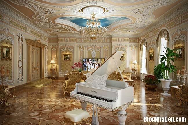 phong khach dep 12 Những thiết kế phòng khách lộng lẫy như hoàng gia