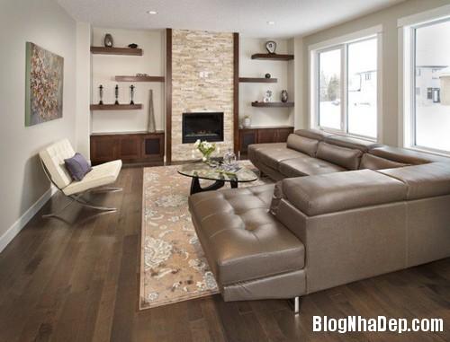 20150114095901696 Những mẫu kệ phong cách cho phòng khách