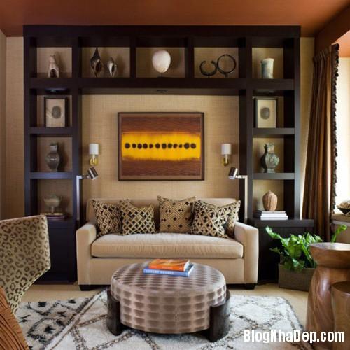 20150114095905518 Những mẫu kệ phong cách cho phòng khách