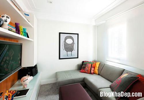 20150126075759626 Các ý tưởng trang trí cho phòng khách nhỏ