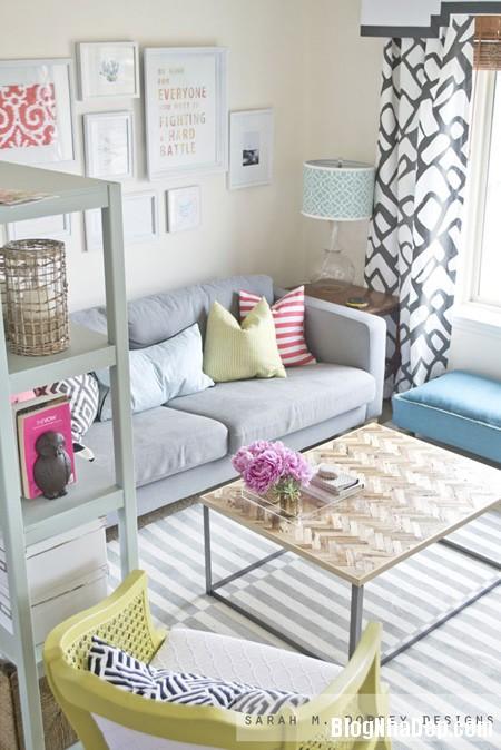 20150126075800936 Các ý tưởng trang trí cho phòng khách nhỏ
