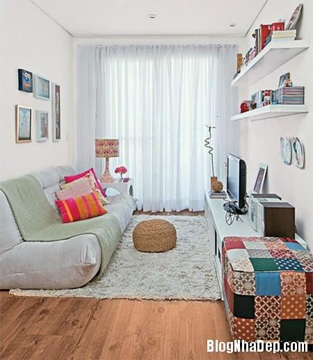 20150126075803738 Các ý tưởng trang trí cho phòng khách nhỏ