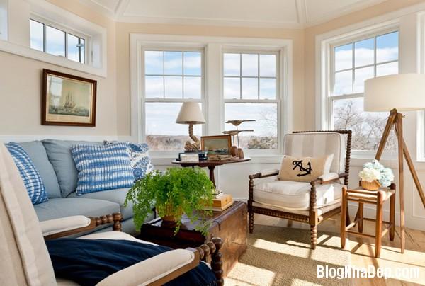 20150224021620962 Trang trí phòng khách ấn tượng theo phong cách hải quân