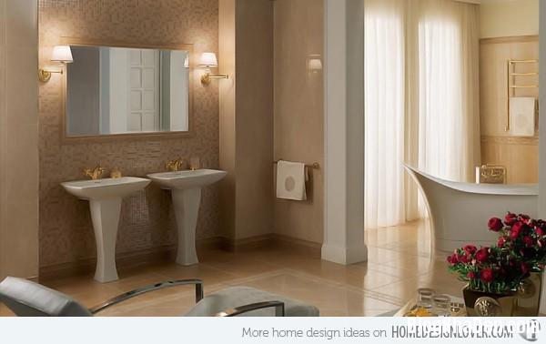 4356ba60dbc82e74acbe39da967438e7 Những mẫu phòng tắm sang trọng và hiện đại với gạch men