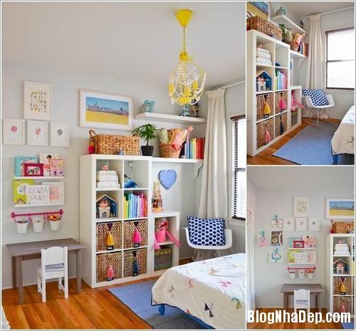 70 bb49 Cách bố trí tối ưu diện tích cho phòng của trẻ
