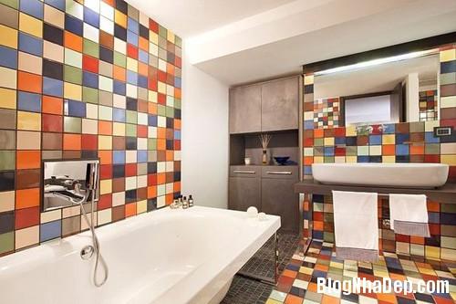gach lat san cho phong tam 1 Chọn gạch lát sàn sang trọng cho phòng tắm