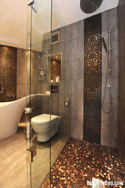 gach lat san cho phong tam 3 Chọn gạch lát sàn sang trọng cho phòng tắm