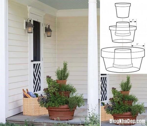 image002 Bí quyết mang khu vườn thảo mộc vào nhà
