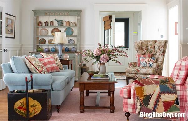 image018 1 Phòng khách rực rỡ với sắc hoa