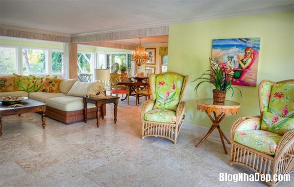image019 1 Phòng khách rực rỡ với sắc hoa