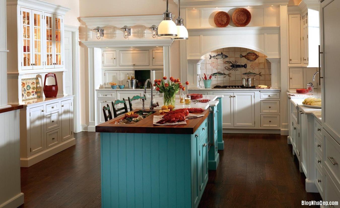 phong bep chau au 5 Thiết kế bếp sang trọng theo phong cách châu Âu